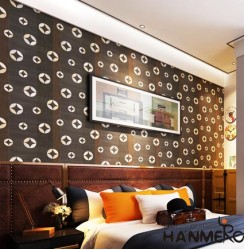 HANMERO 3D Embossing Relief Vinyl Wallpaper