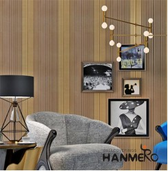 HANMERO Striped Removable Luxury Modern Wallpaper For Living Room