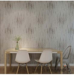 HANMERO Modern Embossing PVC Wallpaper White Home Decor