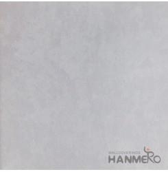 HANMERO Modern Solid Silver Color PVC Interior Wallpaper Decorative Embossed