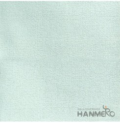 HANMERO Modern Solid Green Color PVC Interior Wallpaper Decorative Embossed