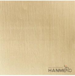 HANMERO Modern Solid Gold Color PVC Interior Wallpaper Decorative Embossed
