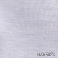 HANMERO Modern Solid Purple Color PVC Interior Wallpaper Decorative Embossed