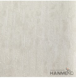 HANMERO European Deep Embossed PVC Cream Crack Wallpaper 580g 0.53*10M/Roll