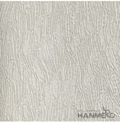 HANMERO Modern Deep Embossed PVC Silver Crack Wallpaper 580g 0.53*10M/Roll