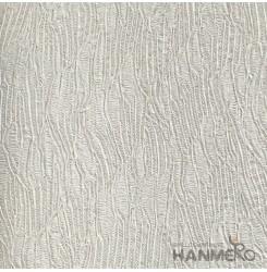HANMERO Modern Deep Embossed PVC Silver Crack Wallpaper 580g 0.53*10M/Roll