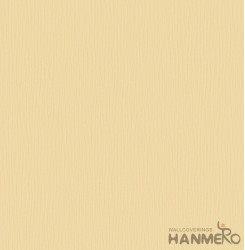 HANMERO Embossed Modern Solid Yellow PVC Wallpaper For Home Interior Decoration