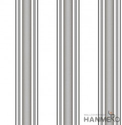 HANMERO Embossed Modern Stripes Grey PVC Wallpaper For Home Interior Decoration
