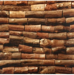 HANMERO New 3D PVC Foaming Modern Wood Wallpaper 0.53*10M/Roll With SGS