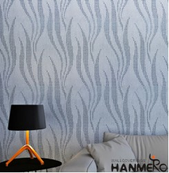 HANMERO Modern Argenteous Printed PVC Waterproof MCM Wallpaper 0.686*10M/roll Home Décor