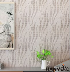 HANMERO Modern Brown Printed PVC Waterproof MCM Wallpaper 0.686*10M/roll Home D�...