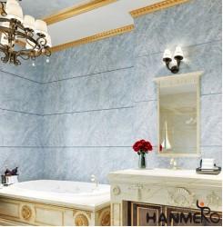 HANMERO Modern Grey Printed PVC Waterproof MCM Wallpaper 0.686*10M/roll Home Dé...