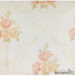 Hanmero Home Decoration Light Yellow Flower Pastrol Vinyl Embossed Wallpaper 0.5...