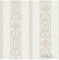 HANMERO PVC Floral Beige European Embossed Wallpaper 0.53*10M/Roll For Interior...
