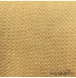HANMERO Modern 0.53*10M/Roll PVC Wallpaper With Gold Solid Embossed Surface