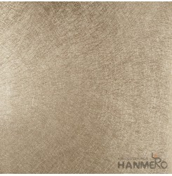 HANMERO PVC Modern Fine Stripes Gold Metallic Wallpaper For Interior Wall Decor