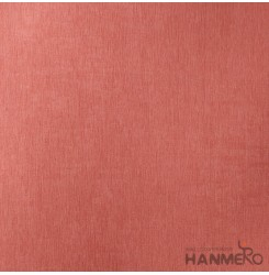 HANMERO Modern Embossed Orange Vinyl Wallpaper With Solid For Interior Wall