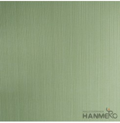 HANMERO Modern Embossed Green Vinyl Wallpaper With Solid For Interior Wall