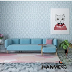 HANMERO Home interior Modern MCM Amber Roll Wallpaper 0.53*10m/roll with Geometr...