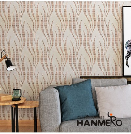 HANMERO Import MCM Amber Roll 0.53*10m/Roll Wallcovering Distributor from China
