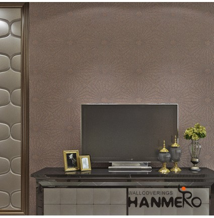 HANMERO Hot Selling Room Decor 0.53*10M/Roll Plant Fiber Particle walllpaper in Modern Style from Chinese Manufacturer
