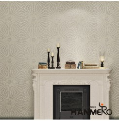 HANMERO Modern Style High Quality and Eco-friendly Plant Fiber Particle wallpape...