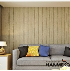 HANMERO New Popular Plant Fiber Particle Wallpaper for Wall Manufacturer Designe...