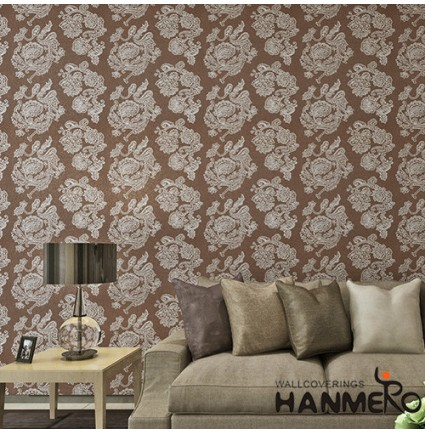 HANMERO High-end Plant Fiber Particle Bronzing Wallpaper for Interior Wall Design with Superior Quality