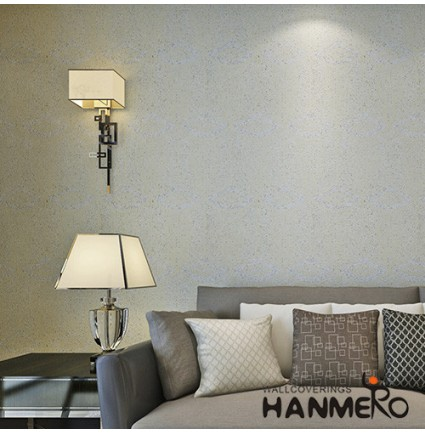 HANMERO 0.53*10m/Roll Home Decor Plant Fiber Particle  Wallpaper for Sale in Wholesale Rate from China