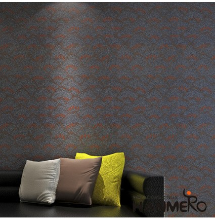HANMERO Best-selling and High Quality Plant Fiber Particle Wallpaper for TV Bachground Wall