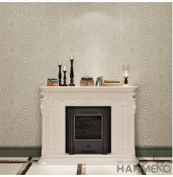 HANMERO  Plant Fiber Particle Wallpaper With Bronzing 0.53 * 10m/Roll For Interi...