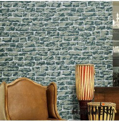HANMERO Hot Sex 3D Brick Effect Sandstone Particle Wallpaper in Modern Style at ...