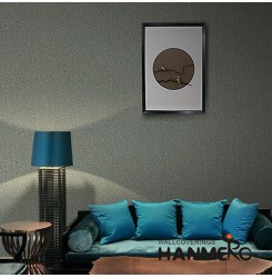 HANMERO Modern Luxury Stylish Plant Fiber Particle Wallpaper with Best Price and...
