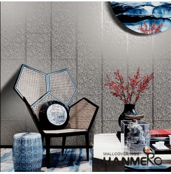 HANMERO New Arrival Plant Fiber Particle Wallpaper 0.53 * 10m/Roll for Study Roo...