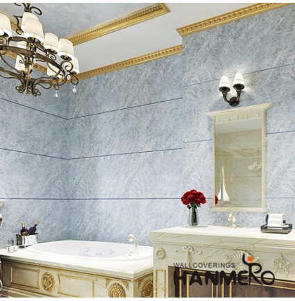 HANMERO Durable Hotels Bathroom Waterproof Wallpaper MCM Soft Stone Patches with Nice Colors and Designs