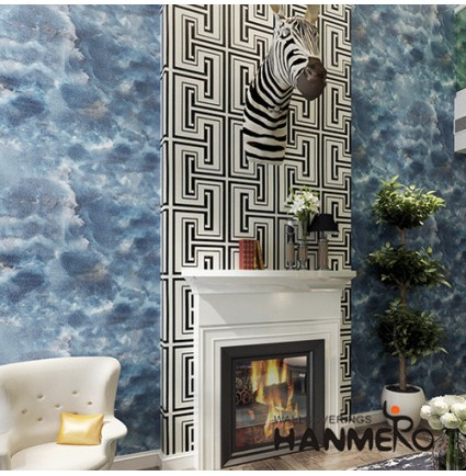 HANMERO High-end  Waterproof Wallpaper MCM Soft Stone Patches Living room Interior Wall Decoration Wallcovering Supplier