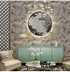 HANMERO CE Certificate Luxury Design Waterproof Wallpaper MCM Soft Stone Patches...