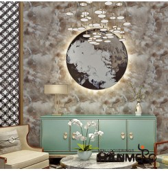 HANMERO New Arrival Luxury Design Waterproof Wallpaper MCM Soft Stone Patches fo...