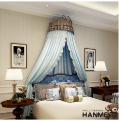 HANMERO Soundproof Contemporary Modern Bedroom Wallpaper