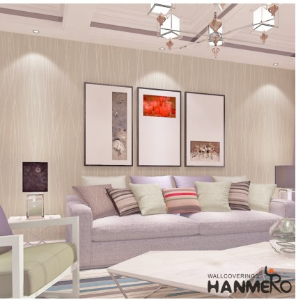 HANMERO Modern Fashion Simplicity Curves and Lines Wallpaper Roll 57 Square Feet Color 2